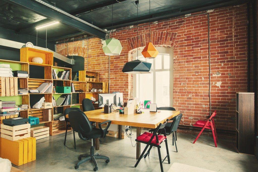 Vintage office interior