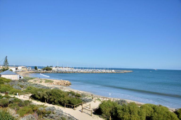 View of Fremantle Harbour, Australia