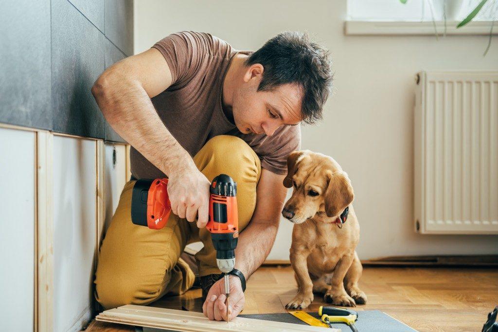 Doing self home renovation