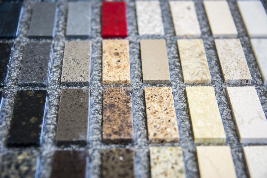 Flooring stone patterns