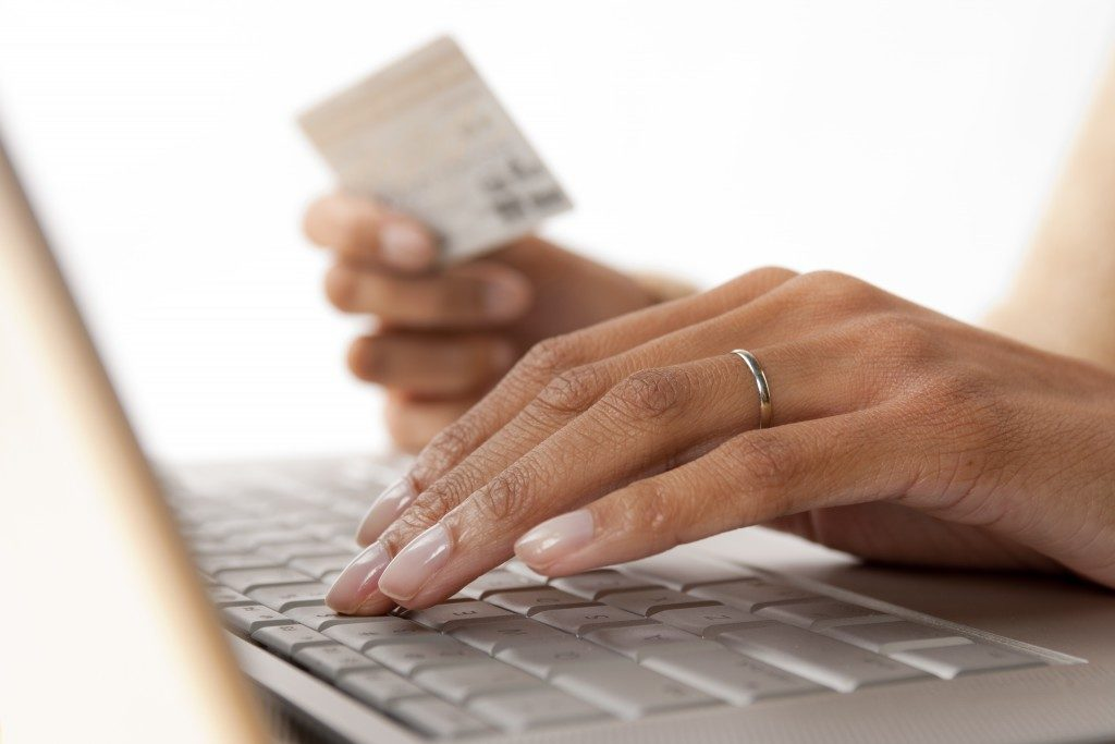 Making online purchases
