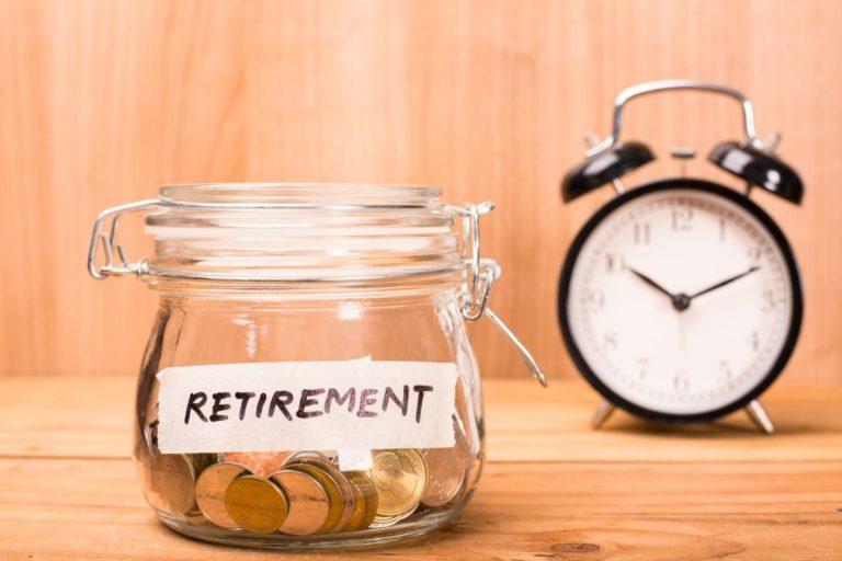retirement jar