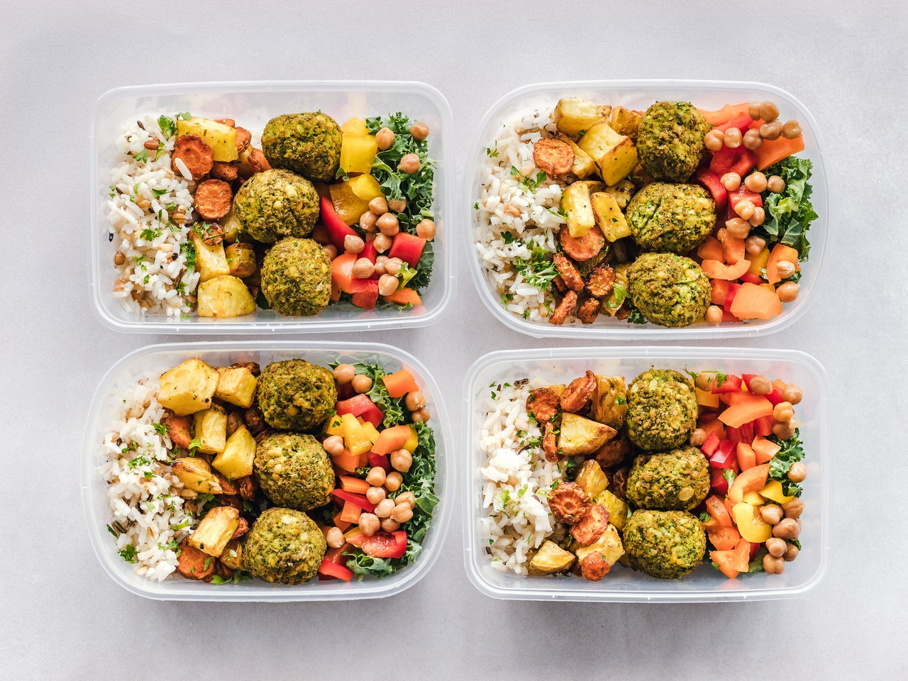 healthy food pack lunch