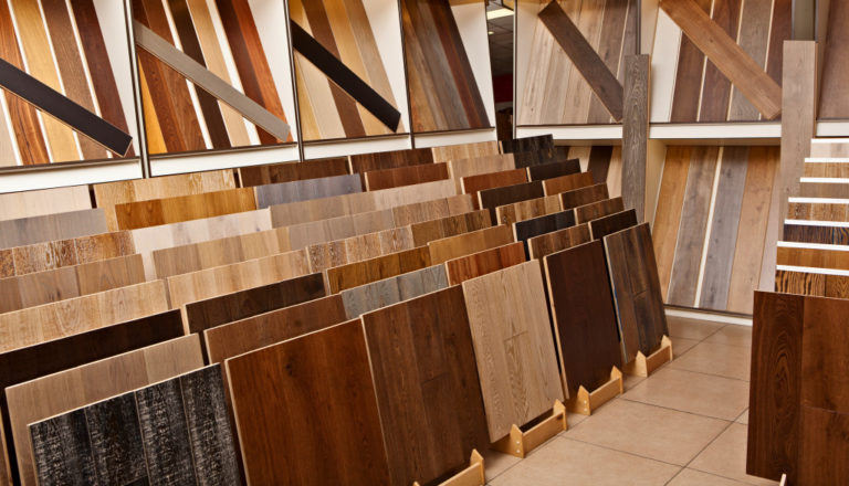different types of hardwood