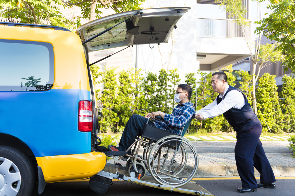 Vehicle For Disabilities