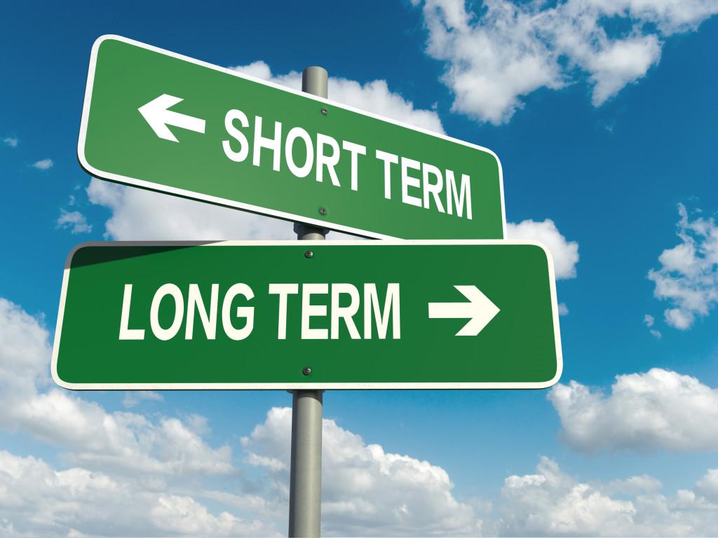 long term and short term life goals